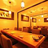 テーブル席個室(24~30名様)