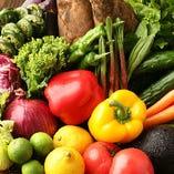 軽井沢の気候が育む高原野菜など、厳選食材が目白押し!