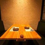 当店自慢の個室空間(4名様×4)
