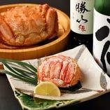 旬の食材を最高の状態で調理した季節料理と厳選地酒