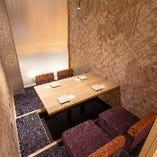 和モダン調のくつろげる大小完全個室を完備!接待から宴会まで◎