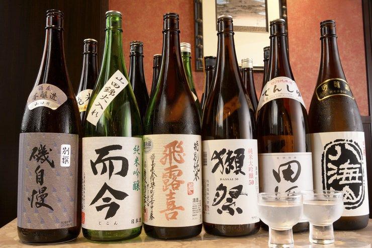さらに増えますこだわりの日本酒たち