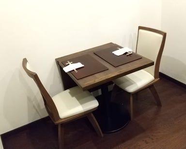 坂(和仏料理 手打蕎麦)  店内の画像