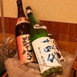 宴会コース利用の方限定で地酒や握り寿司の追加注文も承ります!