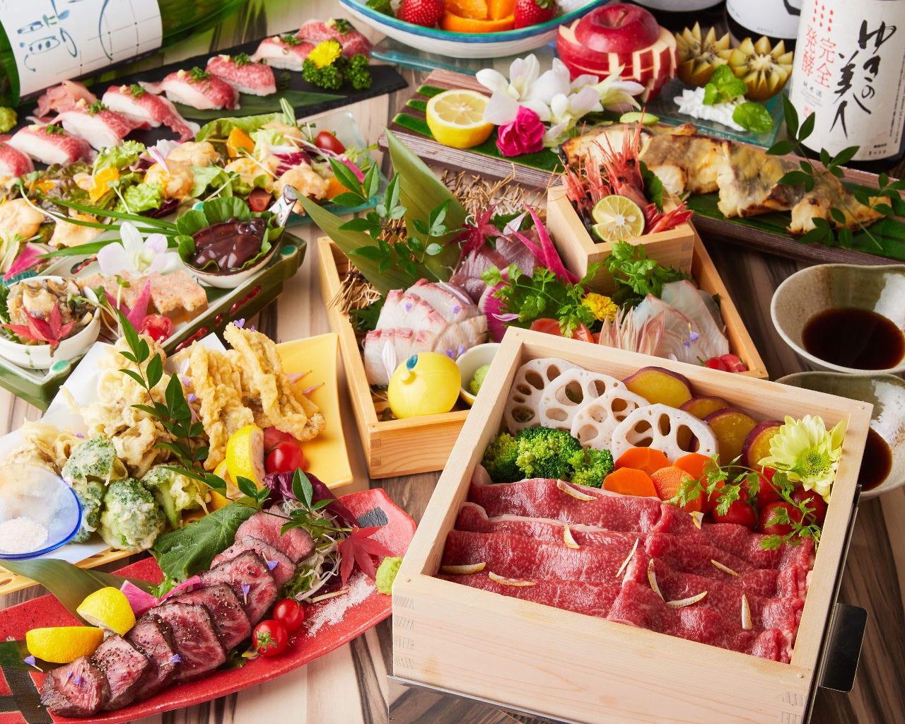 肉・野菜・魚介全ての食材にこだわる