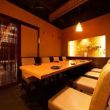 テーブル全席完全個室!個室居酒屋