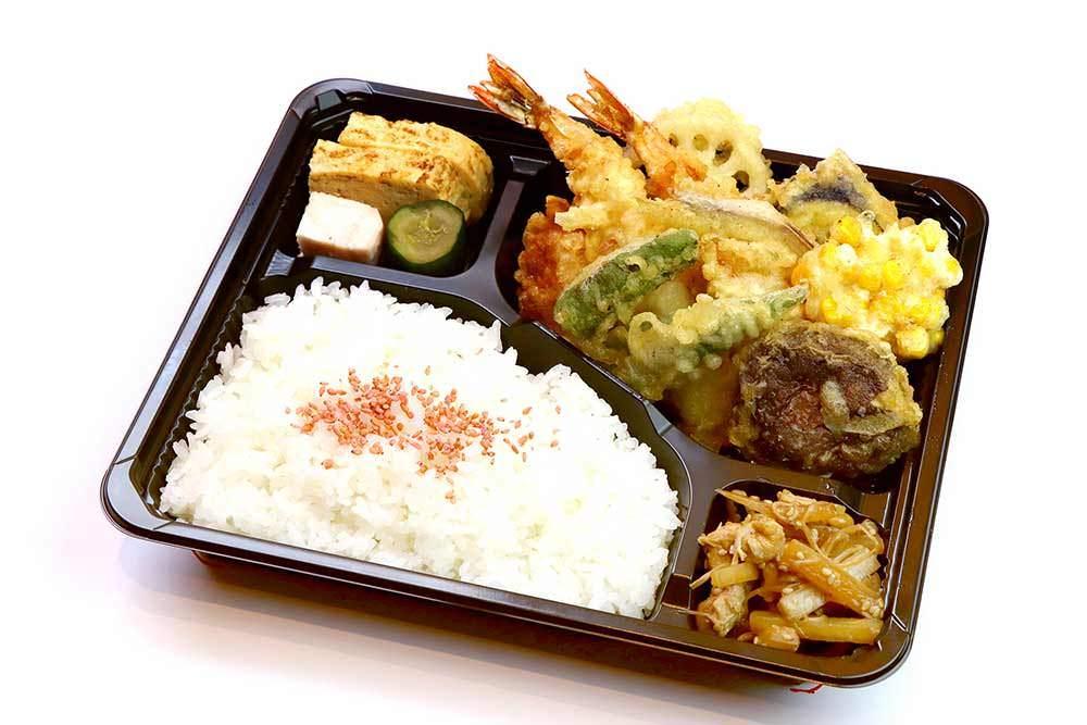 手作り天ぷら弁当