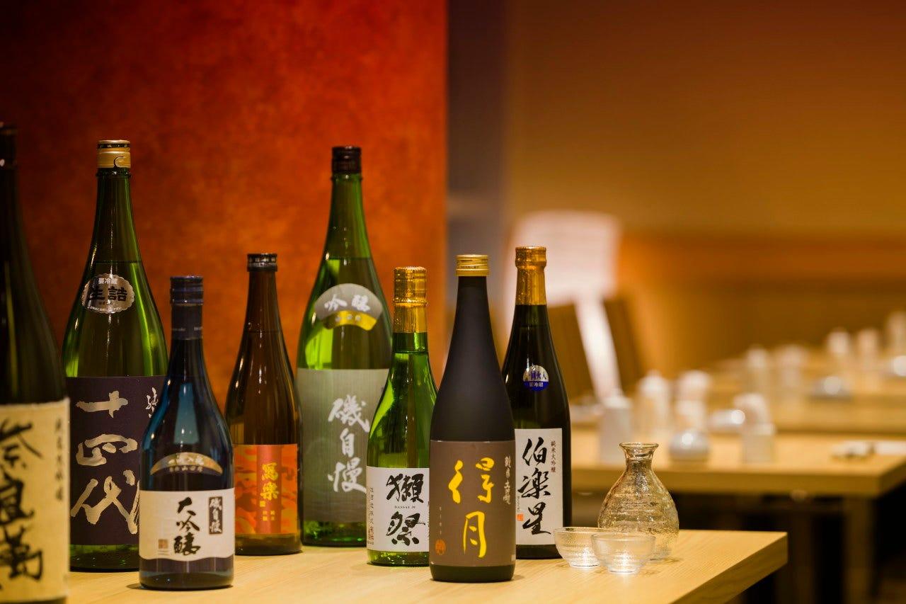 日本酒・本格焼酎はじめ豊富にご用意