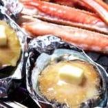 蟹&アワビ食放題コース