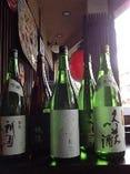 京都の地酒 全国各地より厳選酒 取り揃えております