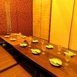 <最適空間> 個室でのご宴会もご紹介致します。