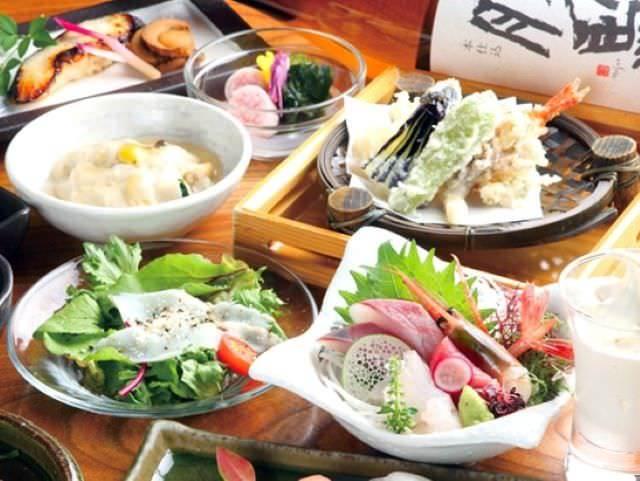 【季節の味を舌鼓!】季節の『宴』コース 4620円(税込み)