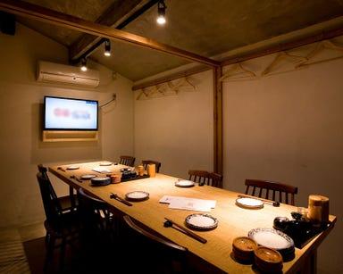魚肉菜 道安  店内の画像