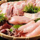 鮮度抜群の朝引き名古屋コーチンを使用したお料理をご提供