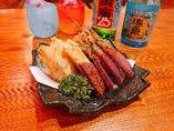 沖縄天ぷら盛り合わせ
