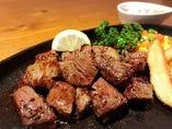 石垣牛サイコロステーキ