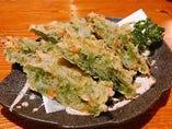 アーサの天ぷら