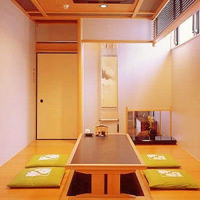 和風情漂う特別個室を7室完備