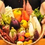 当店の野菜ソムリエが毎日厳選お野菜をご用意しております!!
