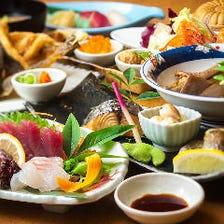 当日入荷の鮮魚で宴会!4,500円~