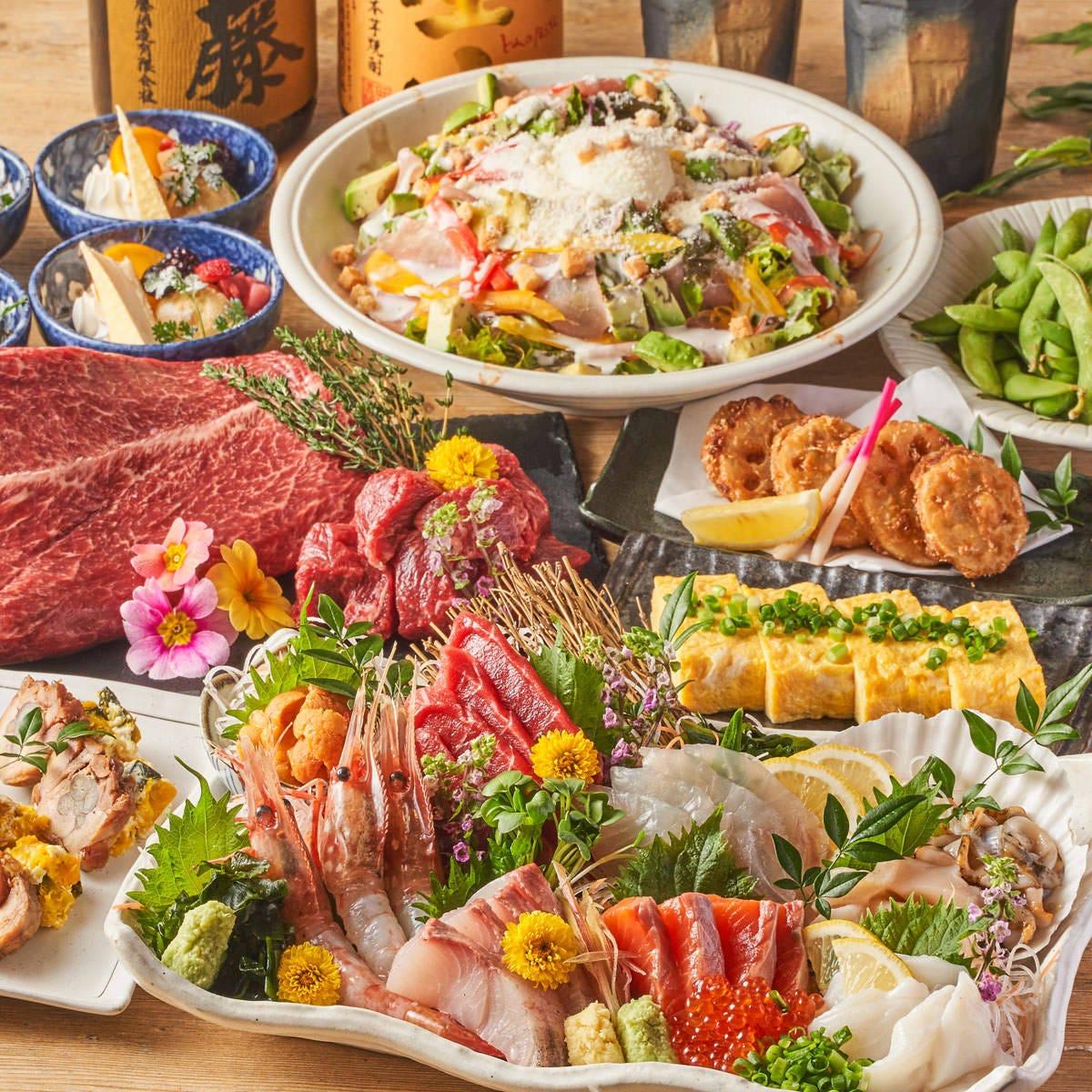 【新潟料理×鮮魚】 日本海の採れたて鮮魚もお楽しみ下さい◎