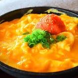 鉄板明太チーズ玉子