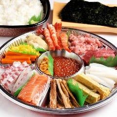 みんなで楽しめる手巻き寿司セット