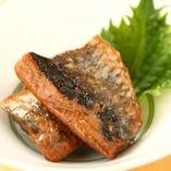 季節の魚:焼物