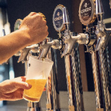 【COEDO生ビール】 併設の醸造所で造る出来立てビールを堪能