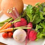 千葉県産の有機野菜と新鮮魚介を提供【千葉県】