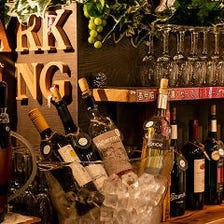 【3時間飲み放題付き】全22種のワインが飲み放題『ワインバイキング』2,300円