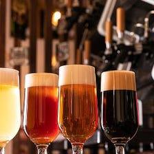 世界レベルのクラフトビール『ベアードビール』常時17種類をご用意