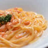 Spaghetti with Sea urchin Cream sauce ウニクリームスパゲッティ