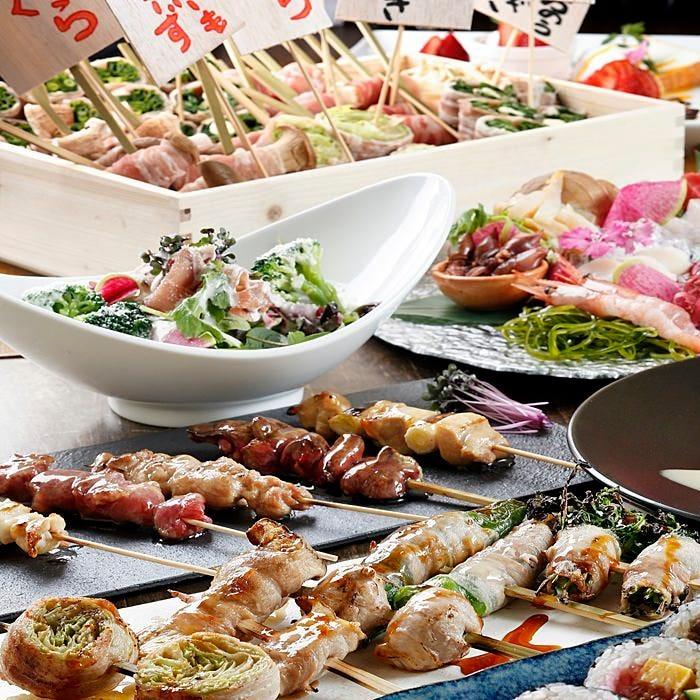 野菜肉捲き串 葉伽梵~ばかぼん~ 高崎本店