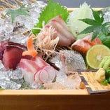 旬魚の刺盛り