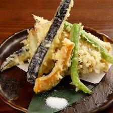 野菜の天ぷら盛