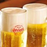 【オリオンビール】 沖縄料理といえばオリオンビール!相性◎