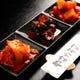 キムチ盛り合せ 580円 辛さが丁度ええ。焼肉との相性◎