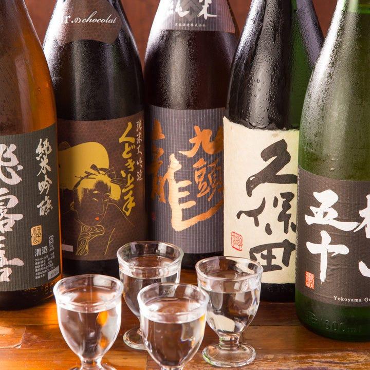 100種以上の日本酒が198円〜