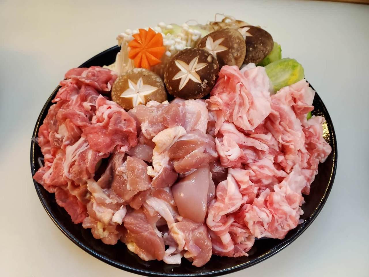 お肉たっぷり鍋コース5,000円!