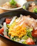 ■お料理■ 旬の野菜を使った色とりどりのサラダ。