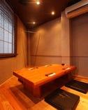 ■店内■ 2階の個室。4名様前後でご利用いただけます。