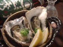 広島県産の殻付きカキを楽しむ!