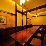 テーブル席個室(6~12名様)