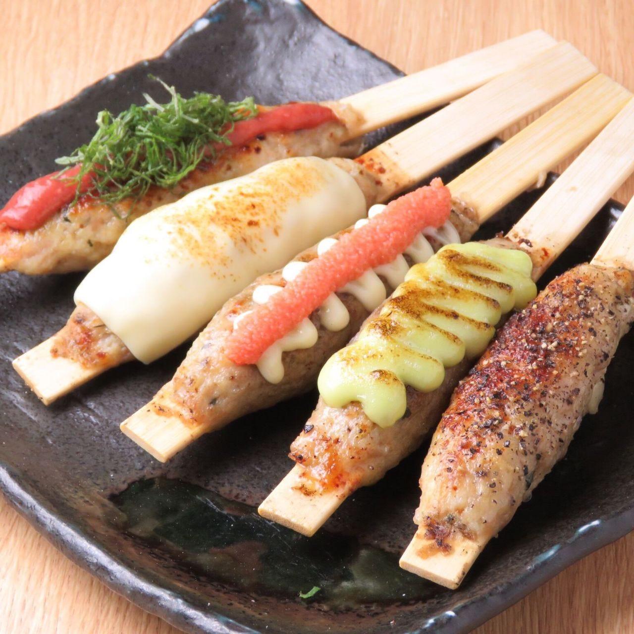 炭火串焼き 鶏料理 鶏心