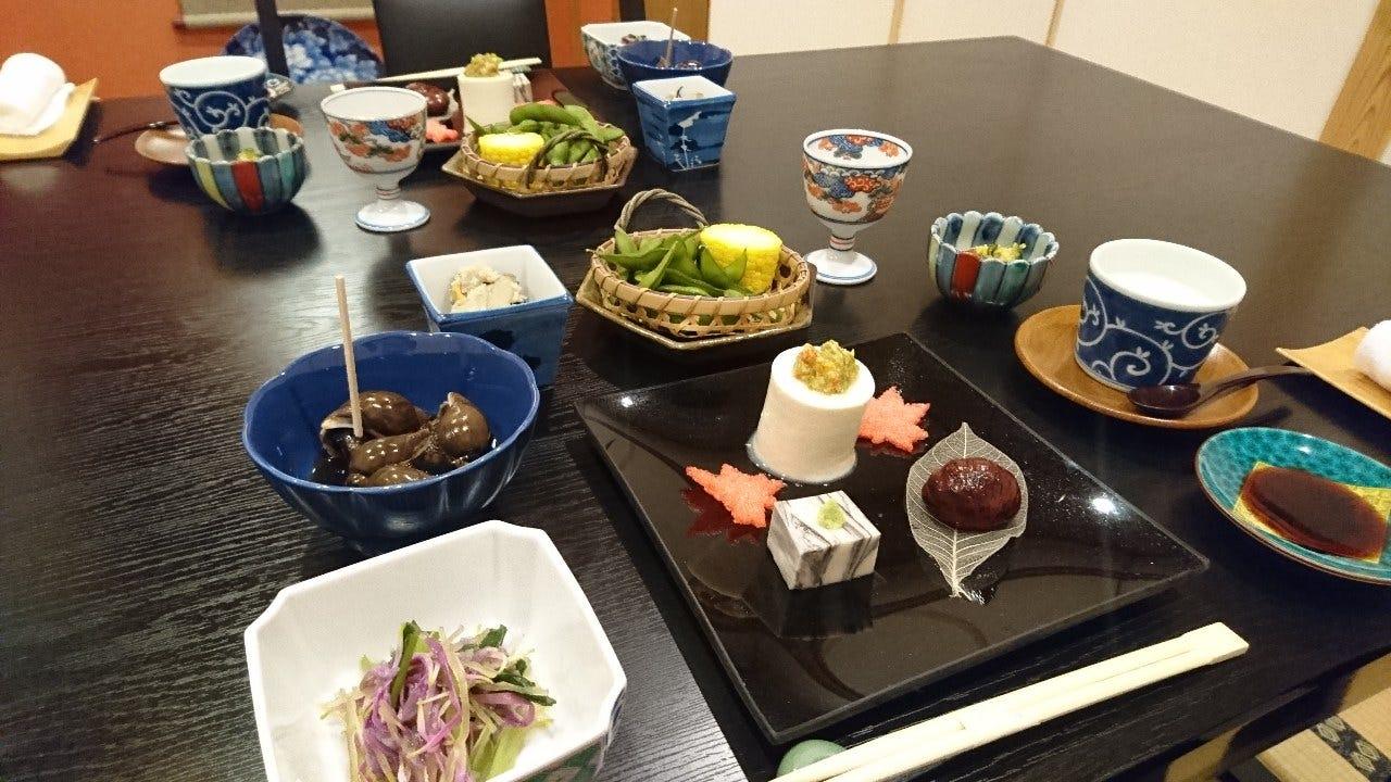 接待向けおまかせ料理コース5000円
