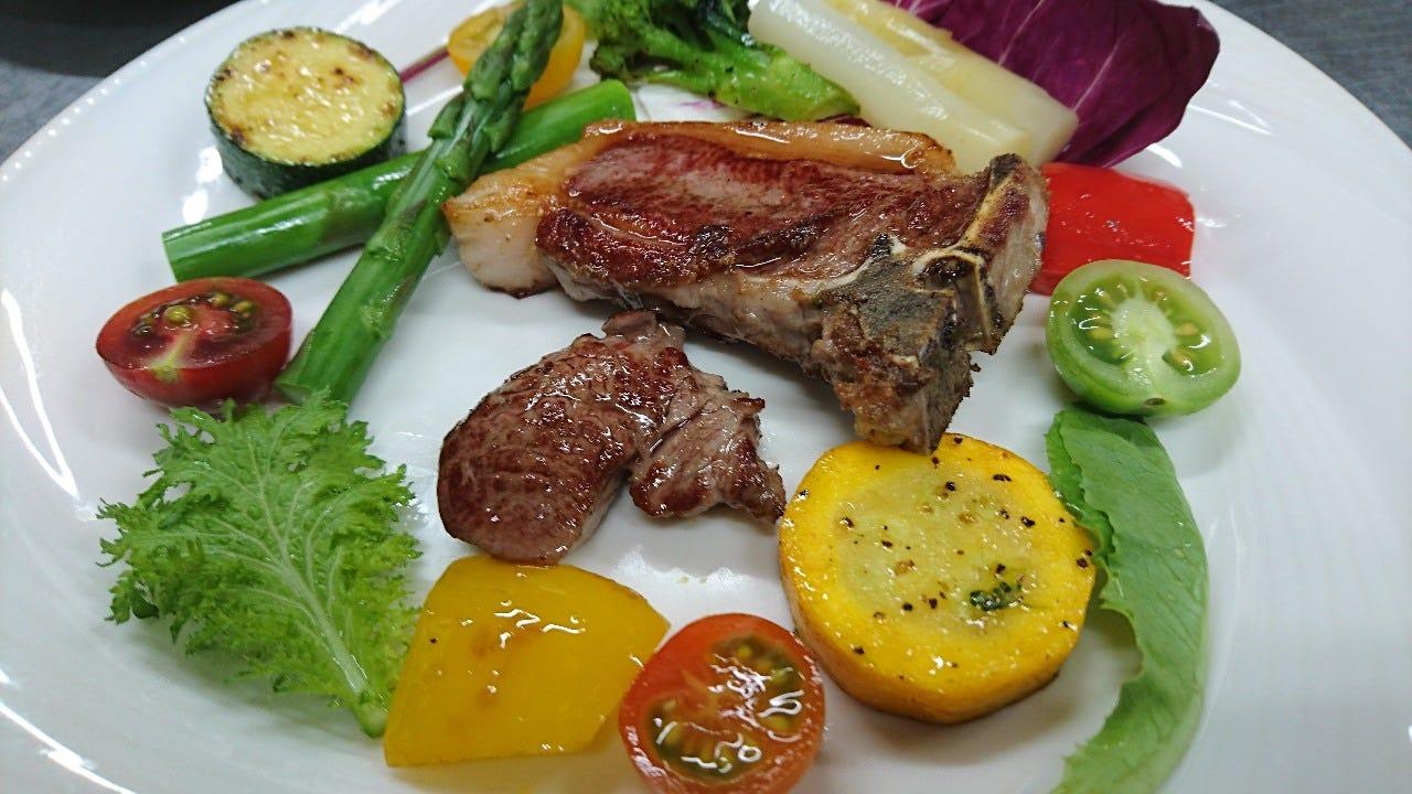 長野県信州新町産サフォーク(羊肉)とおまかせ料理コース