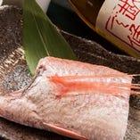 新潟県のブランド魚、「のどぐろ」予約の時点で申し付け下さい!