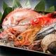 日本海の魚介を使ったお料理を味わえます。