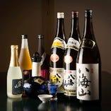 地酒八海醸造の日本酒は全て揃えております、県内県外のお客様の接待にご利用下さい。
